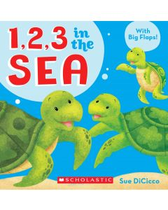 1, 2, 3 in the Sea Book