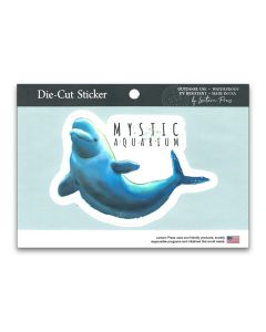 Beluga Watercolor Sticker Decal