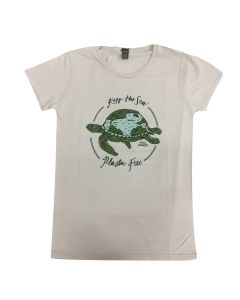"Women's ""Keep the Sea Plastic Free"" Shirt"