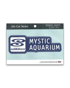 Mystic Aquarium Logo Full Color Sticker Decal