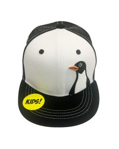 Youth Flat Brim Penguin Cap