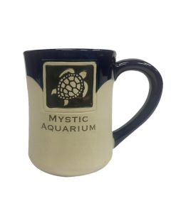 Sea Turtle Etched  Mug