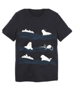 Toddler Beluga & Friends Waves Tee
