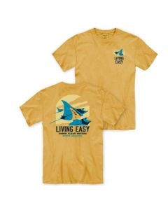 Adult Manta Ray ''Living Easy'' Tee
