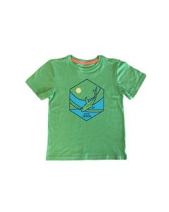 Youth Shark Hexagon Eco-Friendly Tee